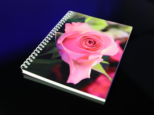 Schreibblock Rose Pink aus der Katharine Siegling Collection