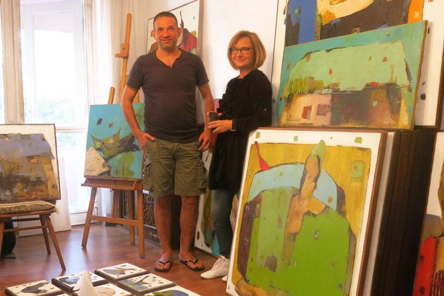 Ammar Alnahhas und Katharine Siegling