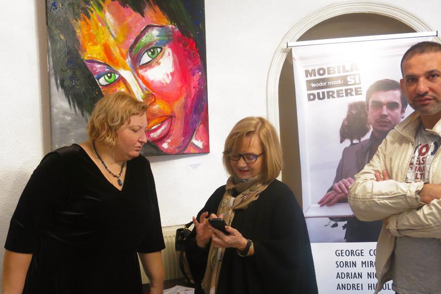 Nicoleta Zagura, Katharine Siegling and Ammar Alnahhas