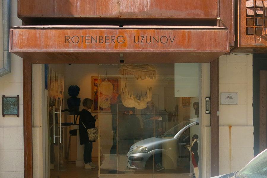 Die Galerie Rotenberg - Uzunov in Bukarest