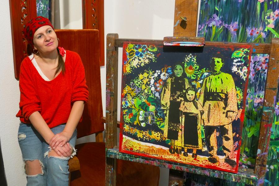 Mirela Trăistaru: Passion für rumänische Tradition und Muster