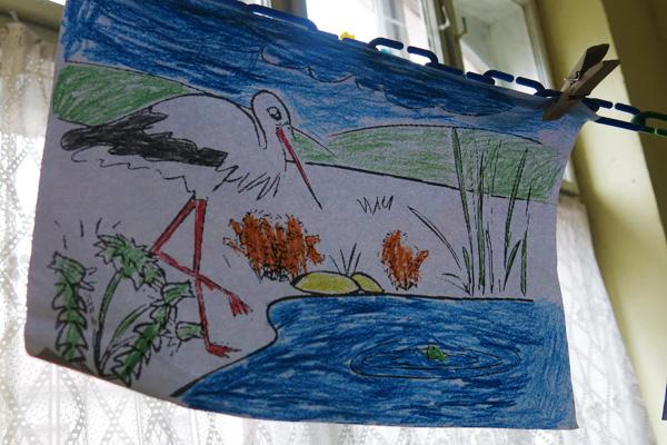 Never Give Up - Kleine Kinder, grosse Künstler - Humanitäres Projekt Araci, Rumänien
