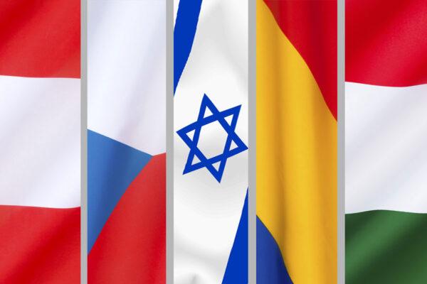 Botschafter von vier EU-Staaten bei Feier der US-Botschaftsverlegung in Israel
